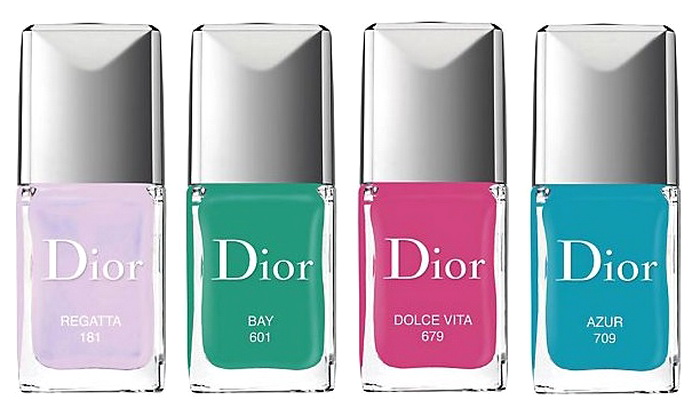 Мой маленький круиз: новая круизная коллекция для макияжа и маникюра лето 2016 Dior