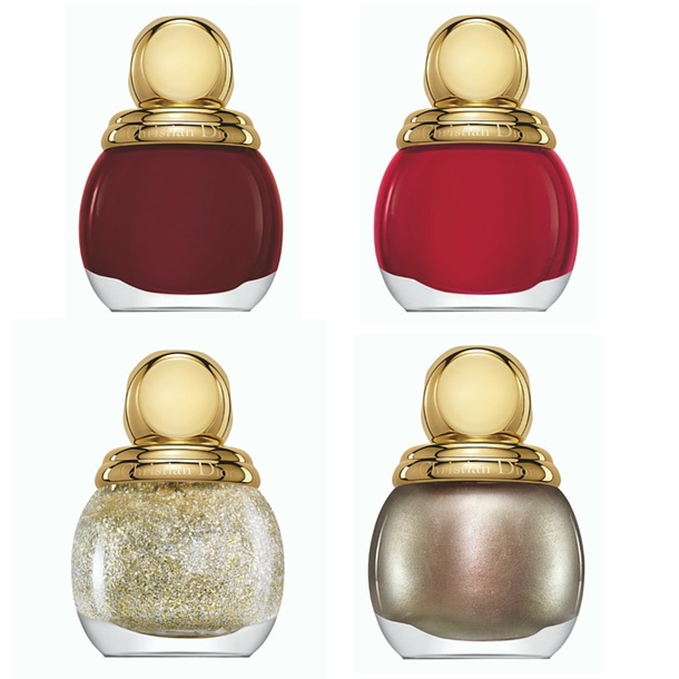 Сияние золота: рождественская коллекция макияжа Dior 2015