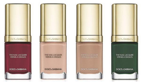 Лучшие не бывает: новая коллекция лаков от  Dolce and Gabbana