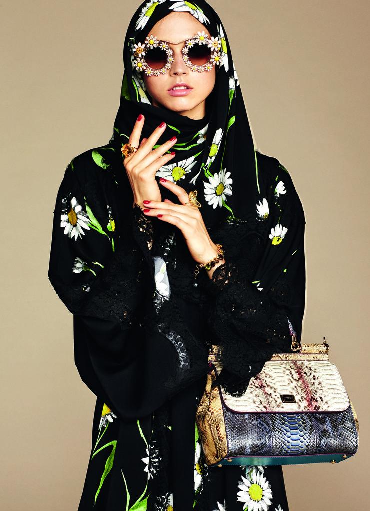 Дело тонкое: Dolce and Gabbana представили коллекцию хиджабов