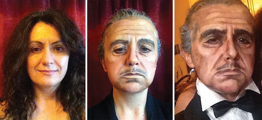 Поразительное сходство: королева Елизавета, Аль Пачино, Джонни Депп и другие превращения женщины-визажиста