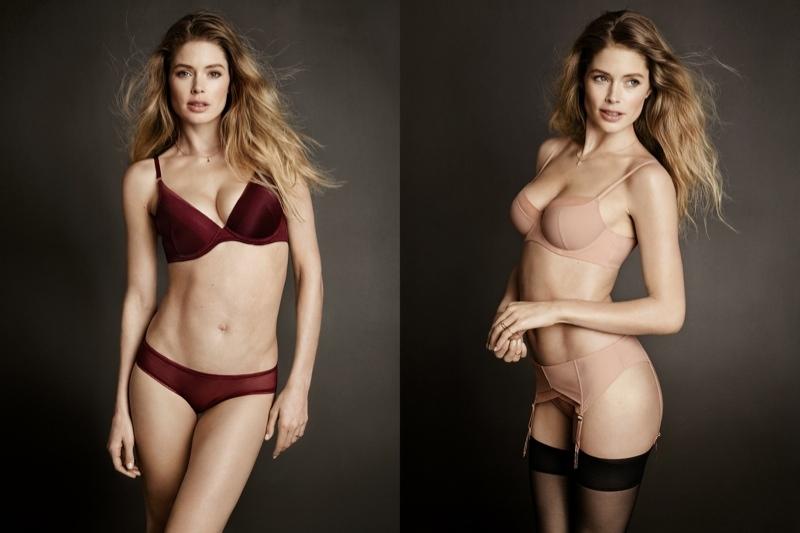 Безупреные формы: Даутцен Крез обнажилась в рекламе нижнего белья