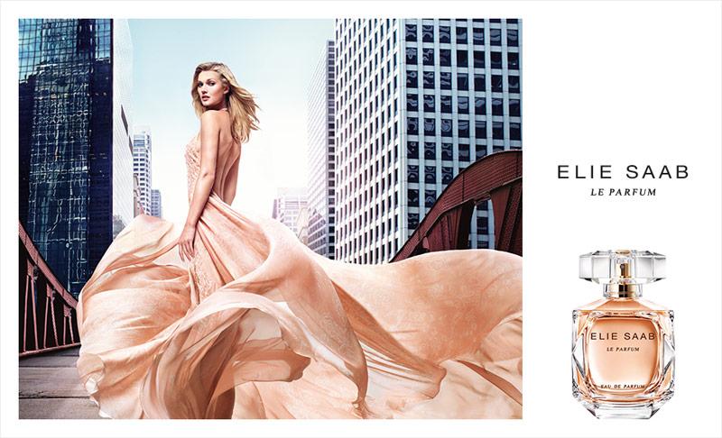 С немецким акцентом: модель Тони Гаррн стала лицом нового аромата Le Parfum от Elie Saab
