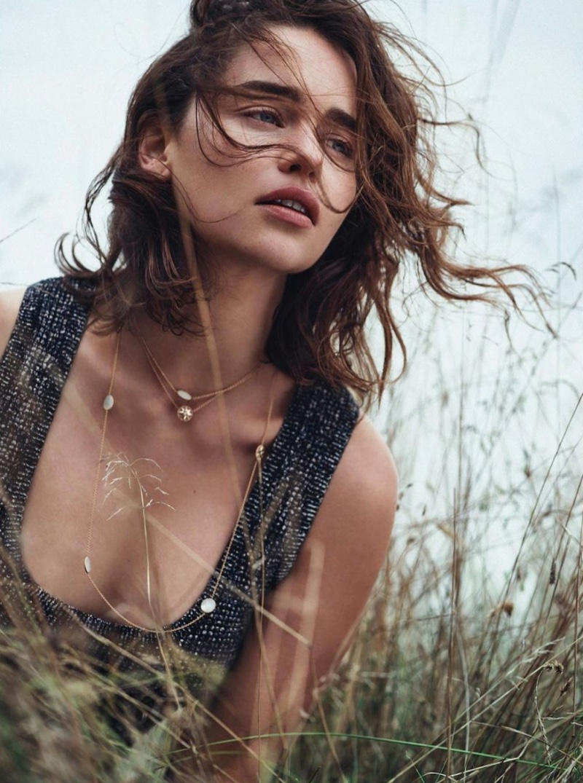 Эмилия Кларк для Dior Magazine