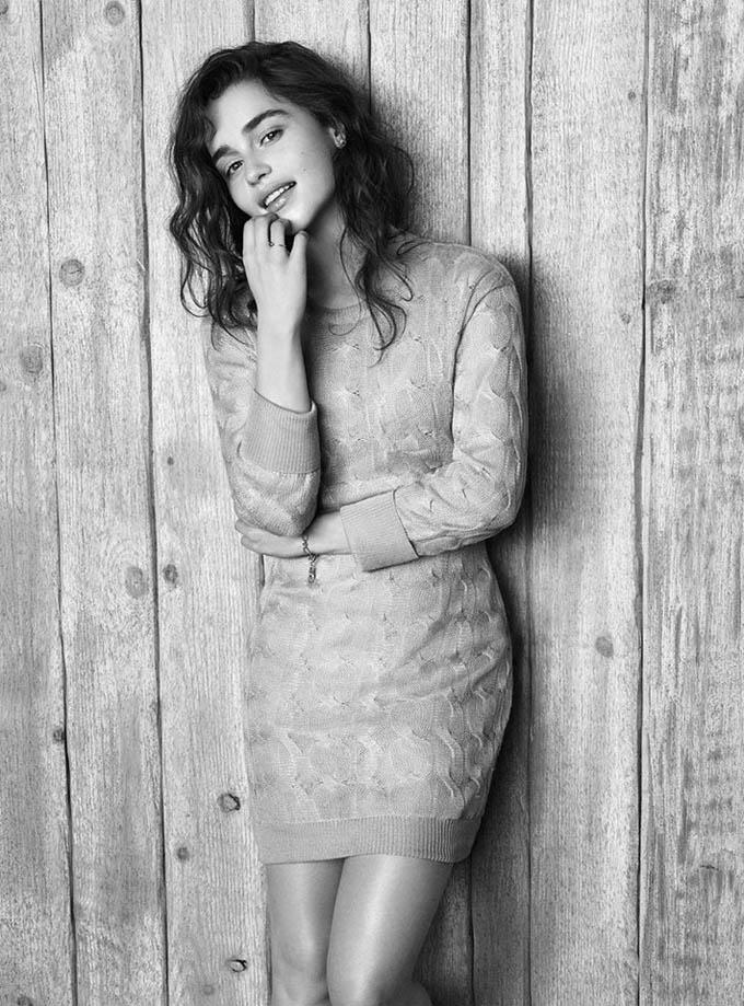 Эмилия Кларк в фотосессии для журнала The Wall Street