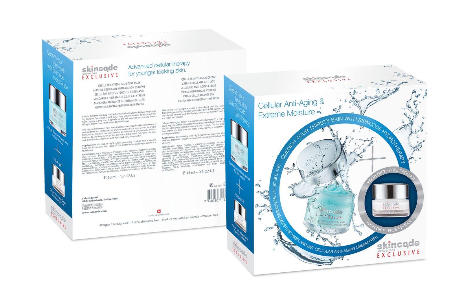 Подарочный набор Skincode Cellular Anti-Aging