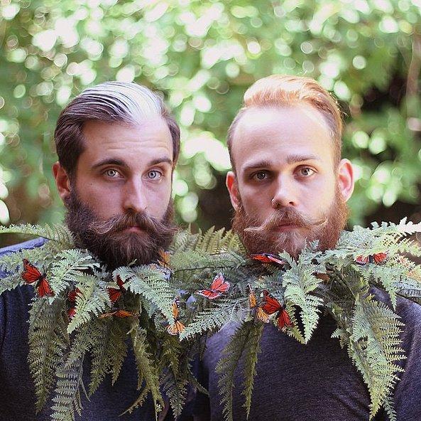 Трюкачи-бородачи: эти парни превращают собственные бороды в красивейшие арт-объекты!