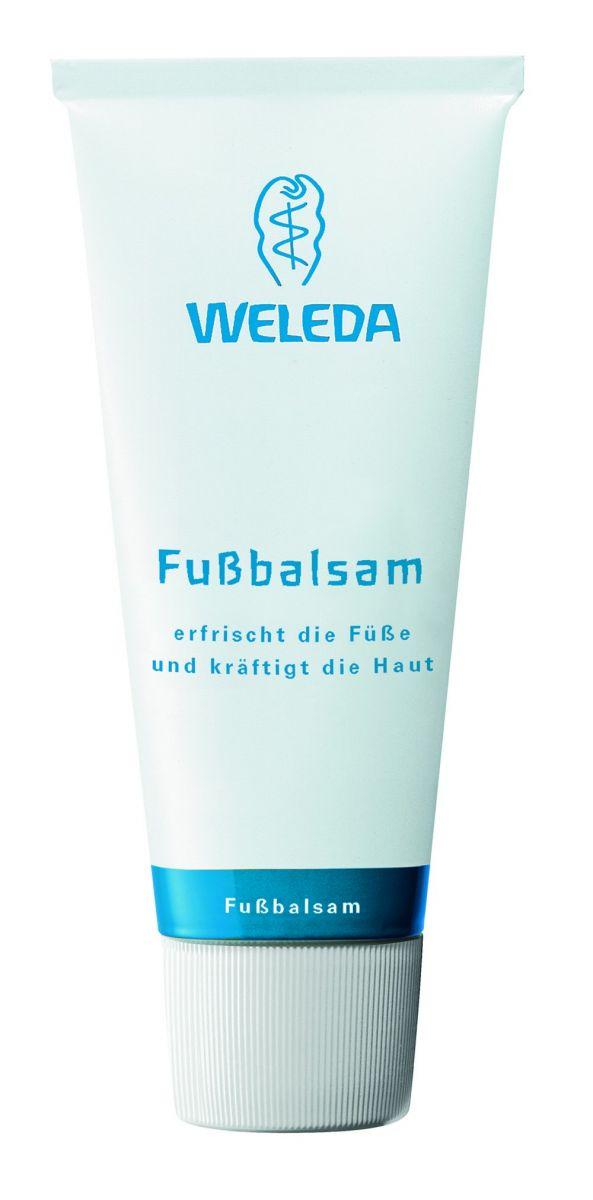 На своих двоих: новинка от Weleda - ухаживающий и освещающий бальзам для ног Fussbalsam