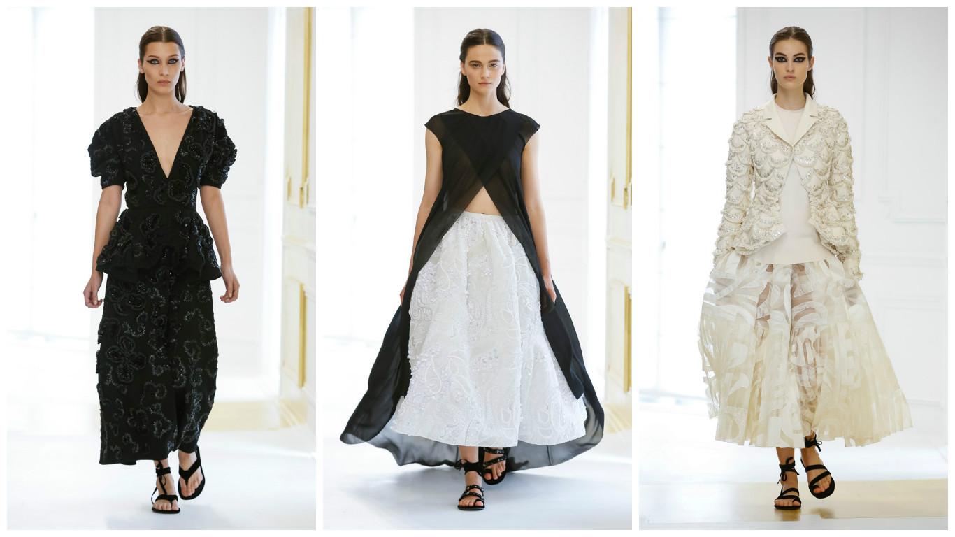 в Париже представили коллекцию Dior Haute Couture осень-зима 2016 фото
