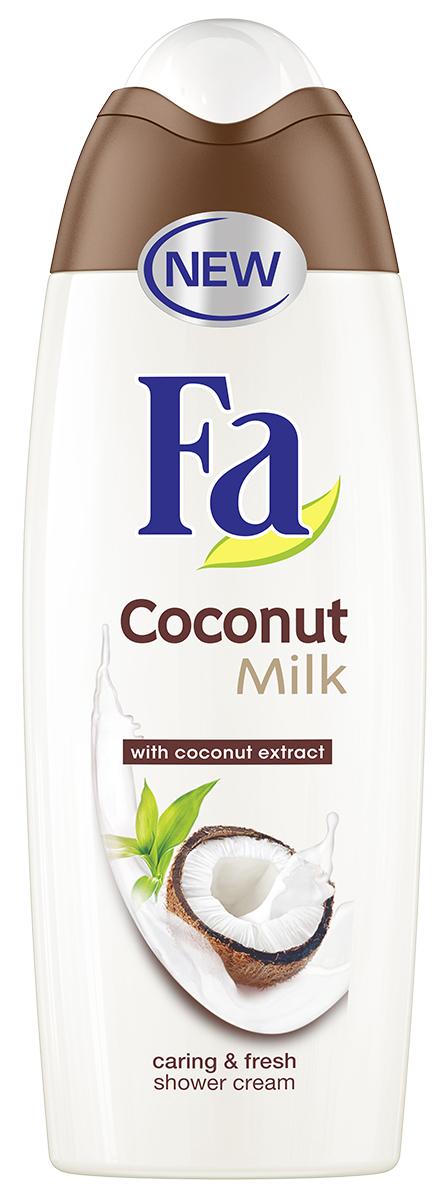 Вперед, в тропики: новая освежающая линия с кокосом Fa Coconut