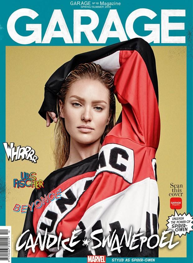Сила красоты: модели превратились в супергероев Marvel для журнала Garage