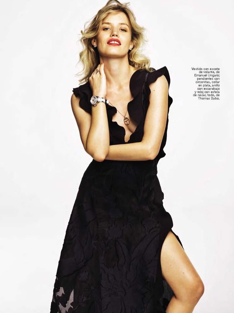 Папина радость: дочь Мика Джаггера снялась в фотосессии для Glamour