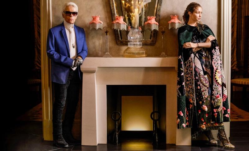 Джиджи Хадид облачилась в Fendi и позирует для Harper's Bazaar (ФОТО)