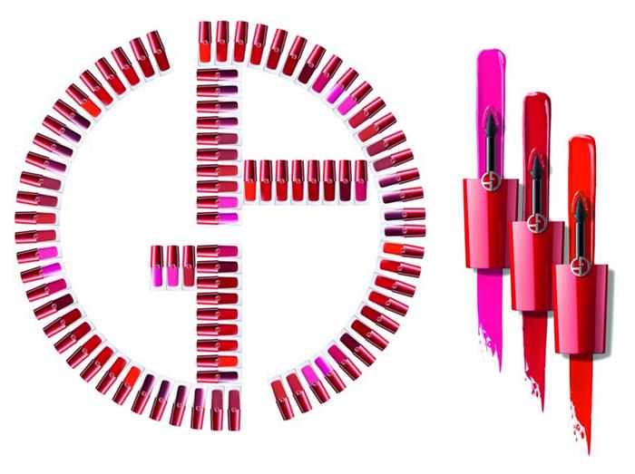 Первый взгляд: какой будет жидкая матовая помада Lip Magnet от Giorgio Armani