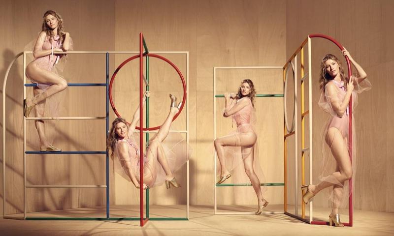 Доппельгангер: Жизель Бундхен обзавелась дубликатами в новой фотосессии