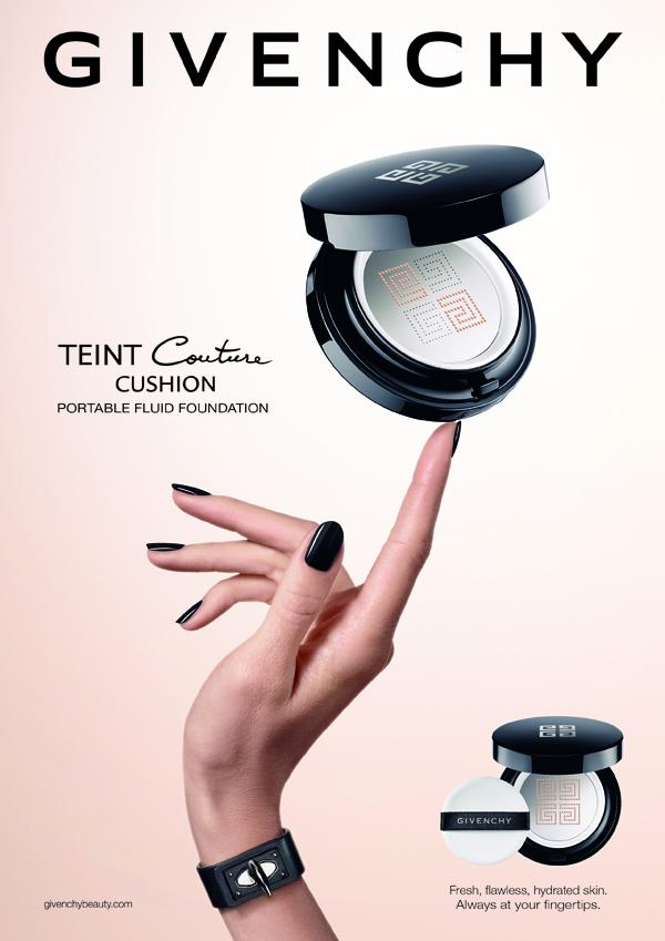 Это он - кушон: тональная новинка от Givenchy - Teint Couture Cushion Portable Fluid Foundation