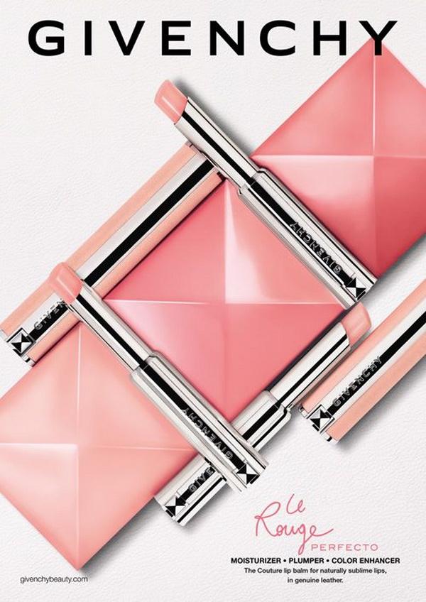 Выручалочка: новый бальзам Givenchy Le Rouge Perfecto реагирующий на pH губ