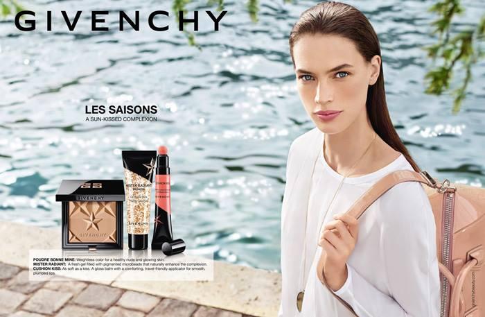 Первый взгляд: летняя коллекция макияжа Givenchy Les Saisons 2016 фото