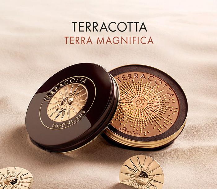 Произведение искусства: лимитированная бронзирующая пудра Terracotta Terra Magnifica от Guerlain