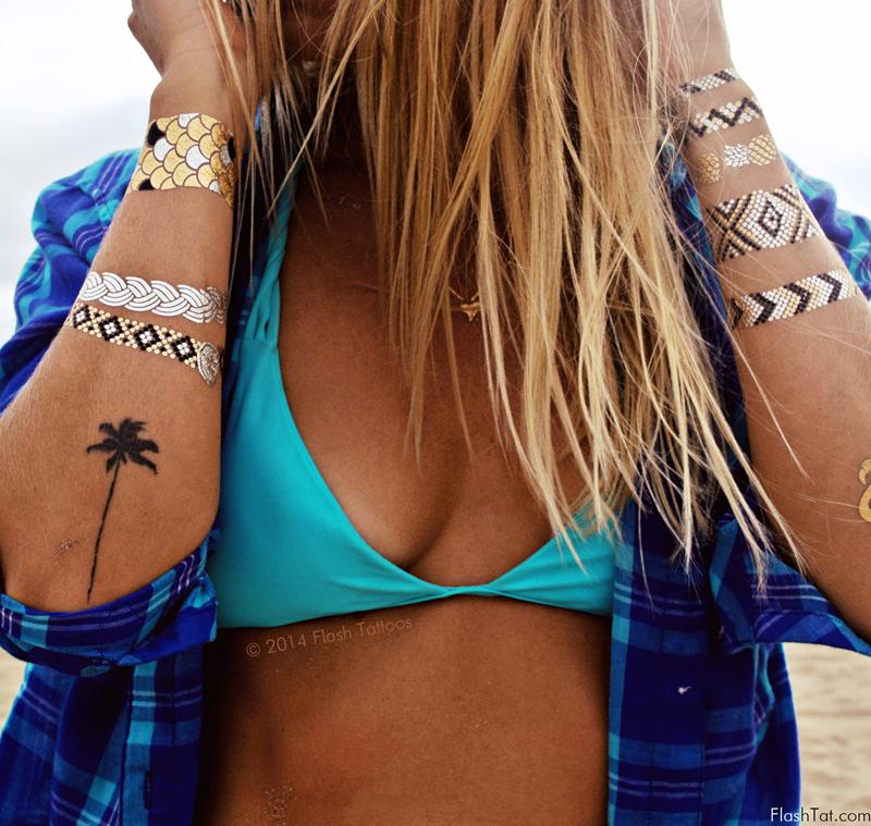 """Временные татуировки """"Флэш-тату"""": что о них нужно знать?"""