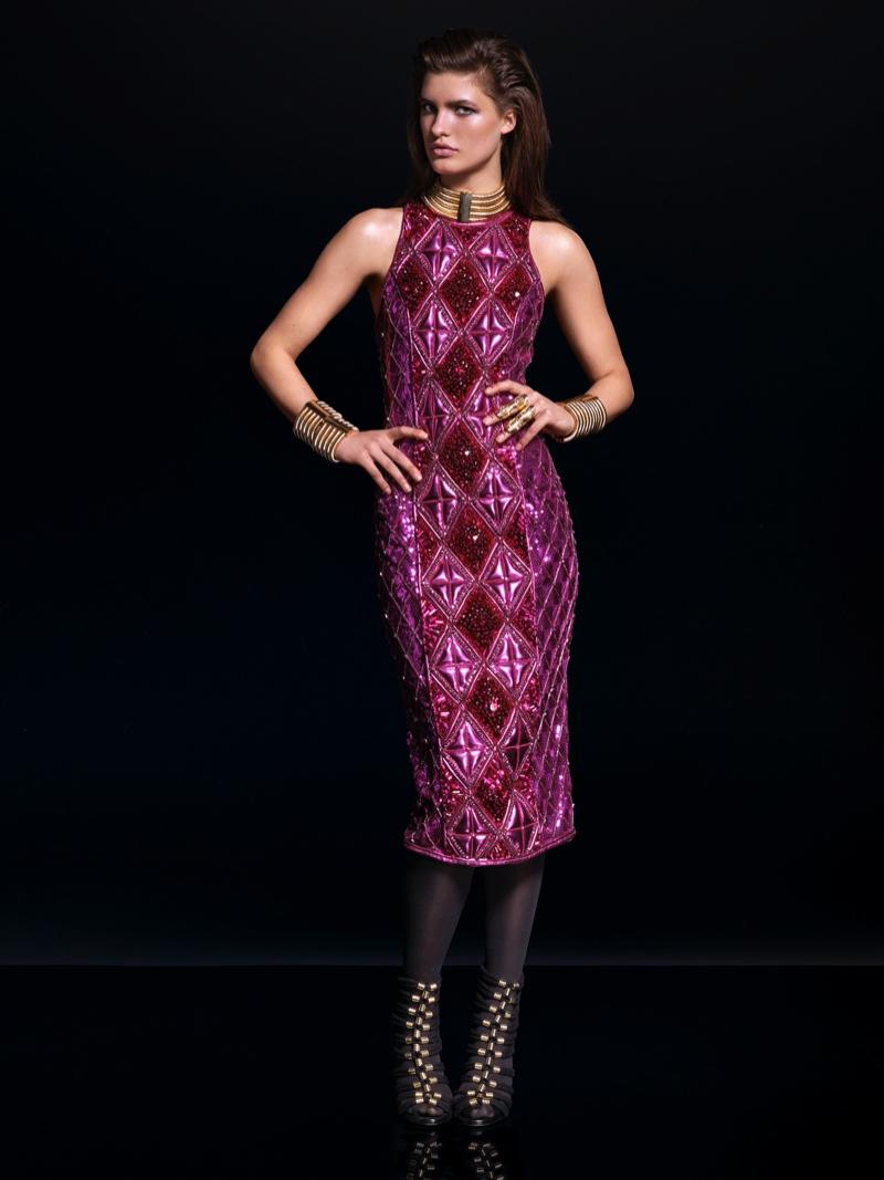 Долгожданный лукбук: коллекция BALMAIN для H&M Women