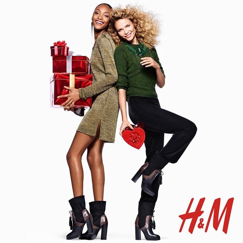 """Балет """"Щелкунчик"""": Джордан Данн и Наташа Поли в рождественской кампании HМ"""