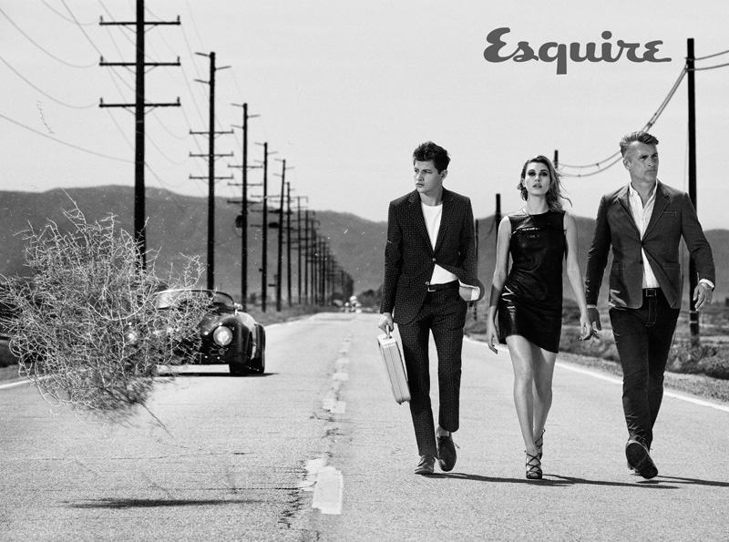 Талантливая родственница: соблазнительная племянница Алека Болдуина для Esquire