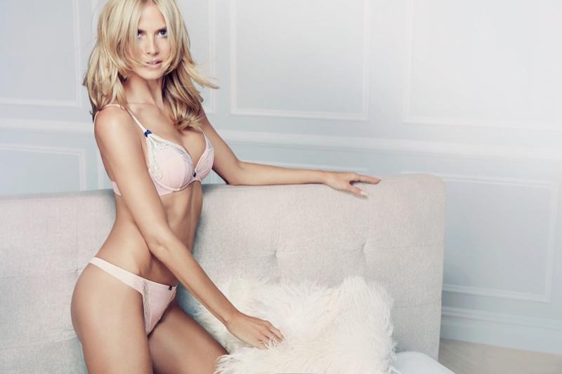42 года, 4 детей: Хайди Клум поражает спортивной фигурой в рекламе собственного бренда нижнего белья
