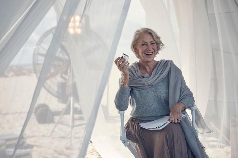 Неувядающая красота: 70-летняя Хелен Миррен снова ошеломляет свежестью и женственностью