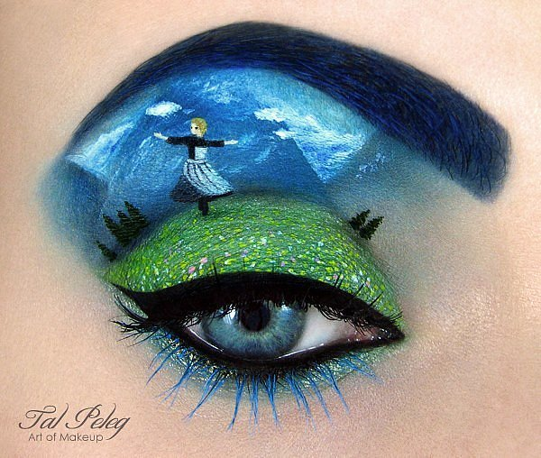 Эти глаза напротив: девушка рисует на веках сказочные картины