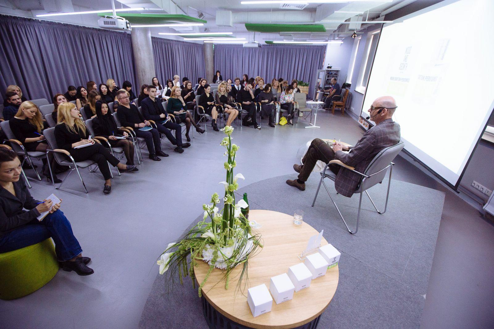 Знакомство с парфюмерным гением: Марк Бакстон в Киеве