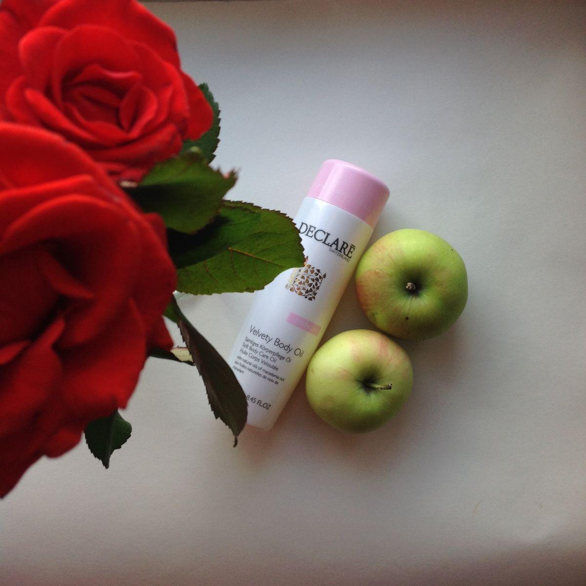 """Тест от редактора: увлажняющее масло для тела """"Прикосновение бархата"""" Declare"""