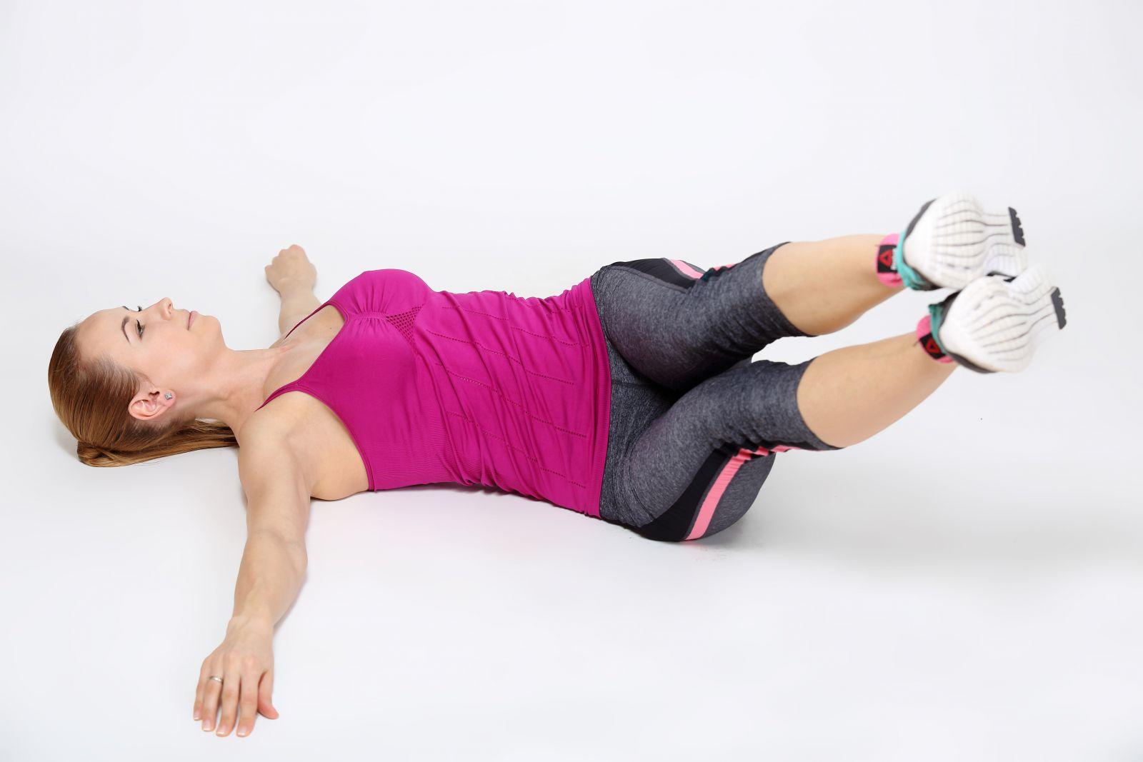 Жиросжигающая  тренировка: комплекс упражнений