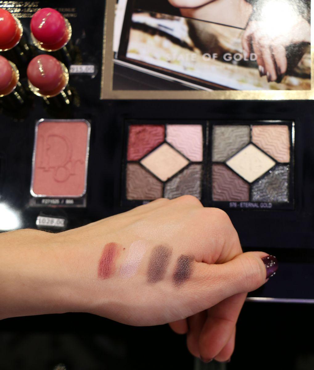 Две пятицветные палетки теней для век 5 Couleurs Couture Colours and Effects Eyeshadow Palette
