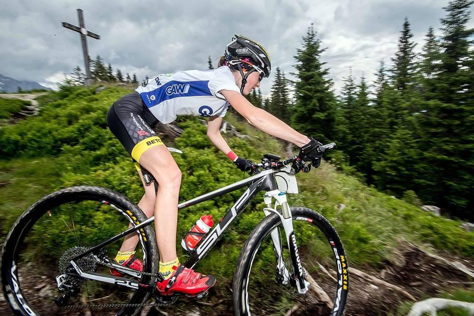 Олимпиада-2016: секреты красоты украинской олимпийской велосипедистки Яны Беломойной