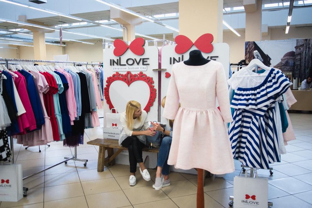 В маркет моллеДарынок состоялась выставка украинских дизайнеров
