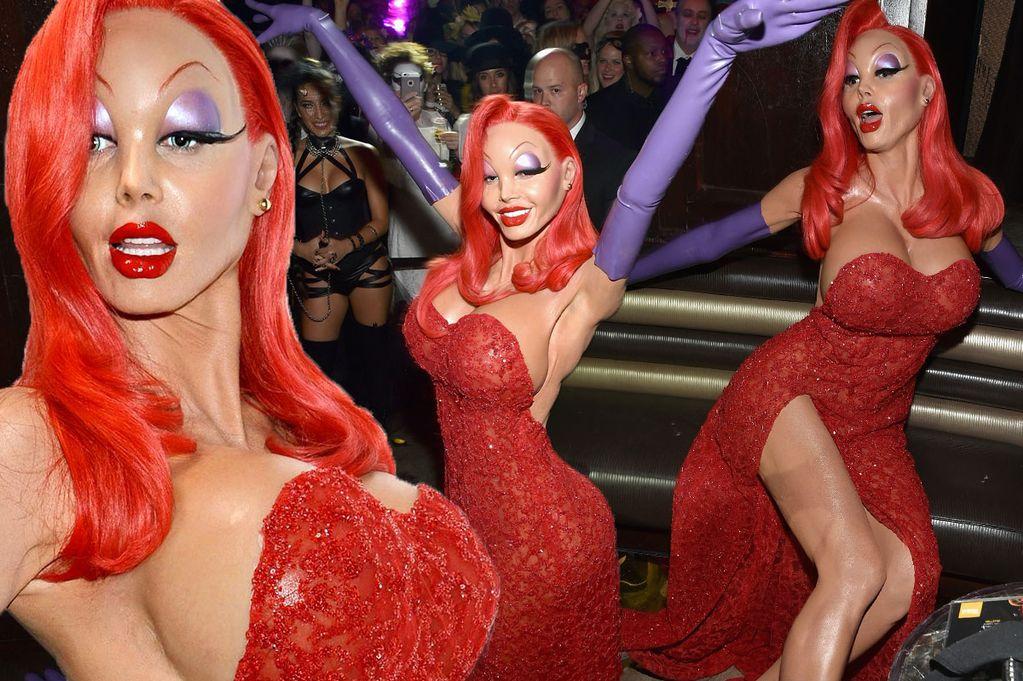 Все обсуждают это: Хайди Клум изменилась до неузнаваемости для Хэллоуин 2015