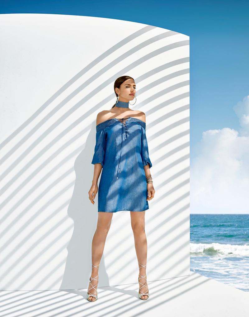 Греческая богиня: знойная Ирина Шейк в новой рекламной фотосессии для Bebe