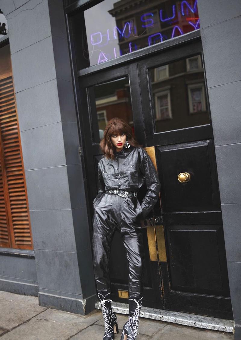 Челка? Серьезно? Ирина Шейк с новой прической появилась фотосессии Vogue