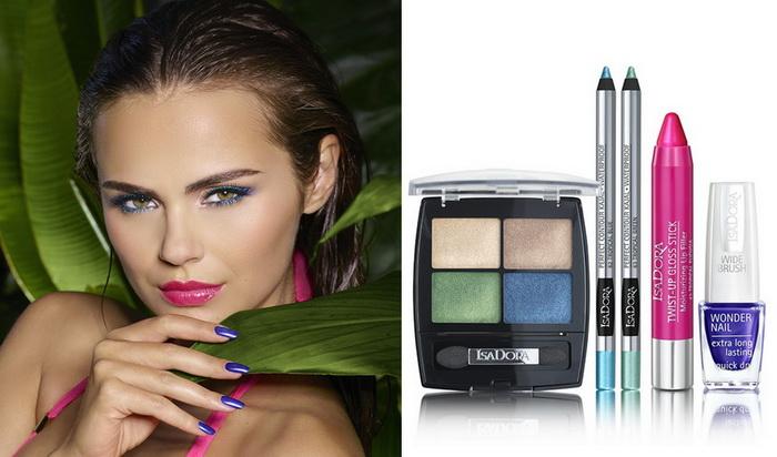 Все в тропики: новая коллекция макияжа лето 2016 Tropical Paradise от IsaDora