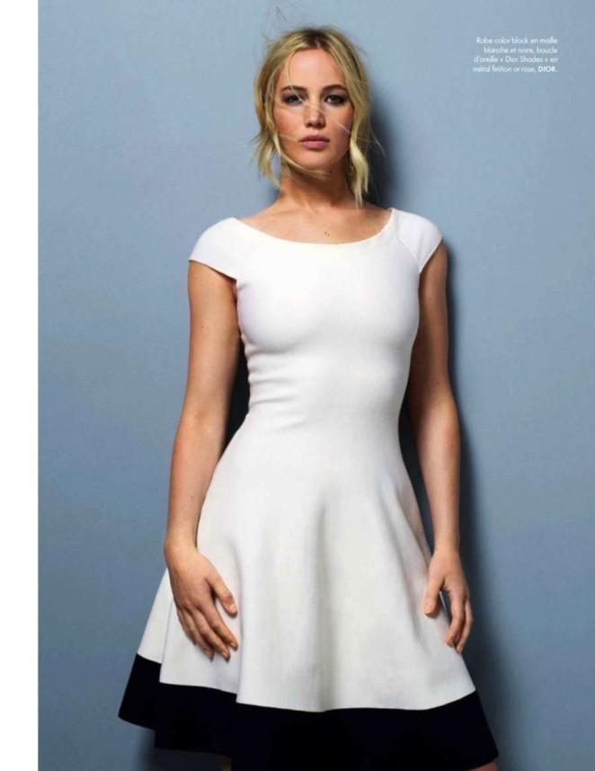 Женщина в белом: Дженнифер Лоуренс в стильных образах от Dior