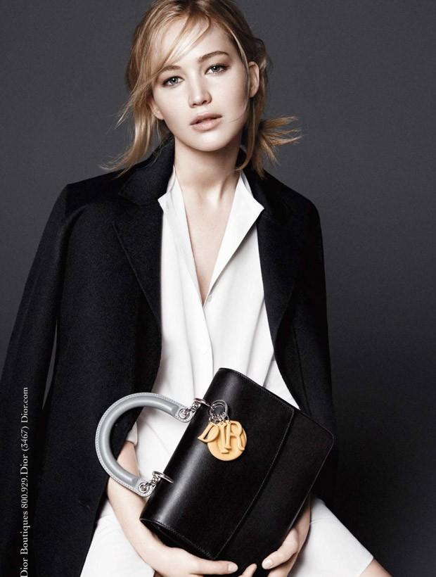 Дженнифер Лоуренс снова снялась для рекламной кампании Be Dior