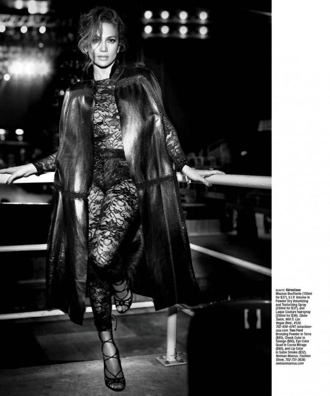 Вот это шоу: Дженнифер Лопес появилась в Vegas Magazine и рассказала о своих принципах