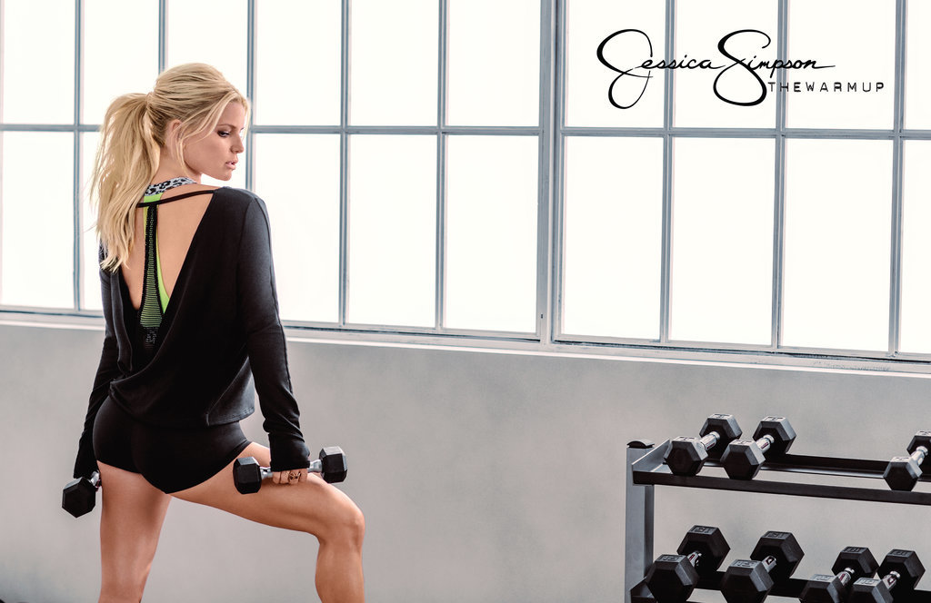 Джессика Симпсон щегольнула фигурой в лукбуке собственного бренда спортивной одежды