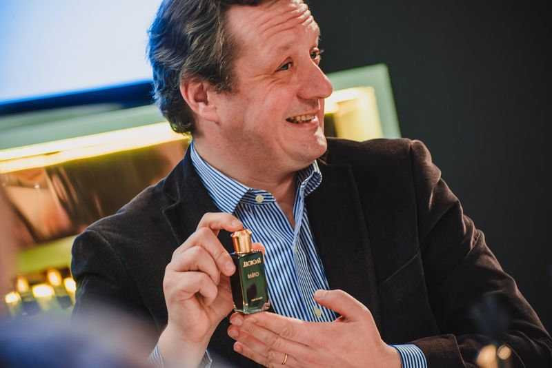Франсуа Эна (Francois Henin), создатель Jeroboam и Jovoy Paris