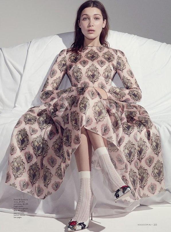 Oh, Bella! Очаровательная Белла Хадид блистает в новой фотосессии