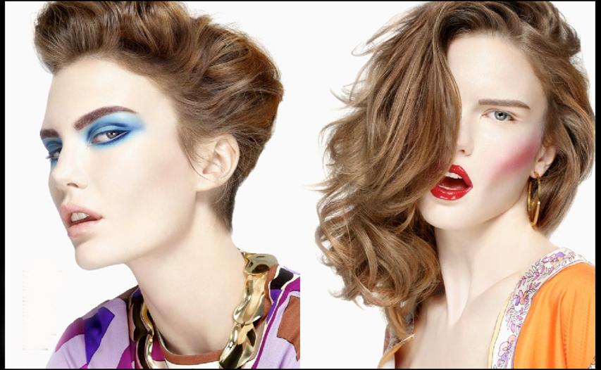 Стрижка и макияж с модой