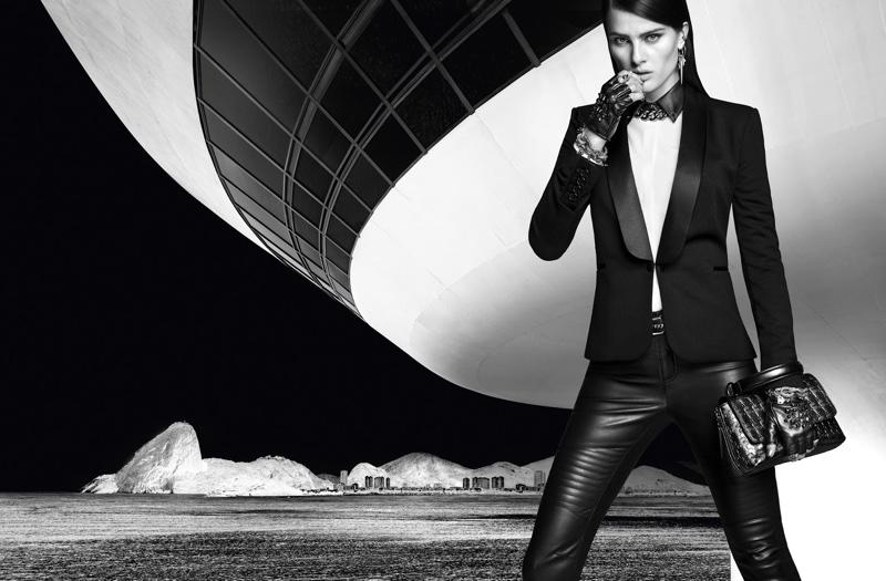 Как папа Карл: роскошная Изабели Фонтана представила коллекцию Karl Lagerfeld х Riachuelo