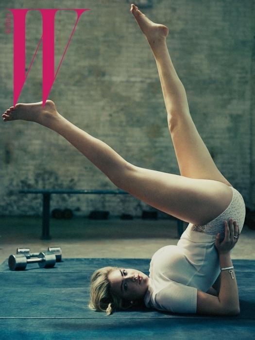 Самая сексуальная модель мира Кейт Аптон мотивирует заниматься спортом