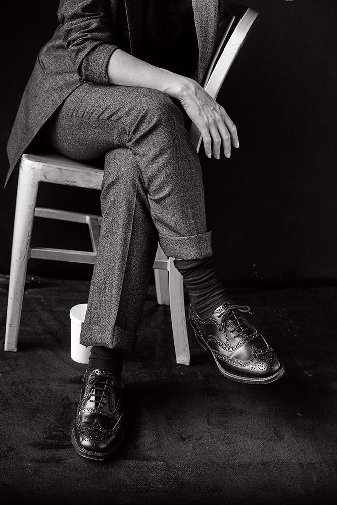 Кейт Уинслет снялась в откровенно маскулином образе